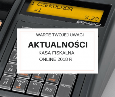 Kasy fiskalne online 2018