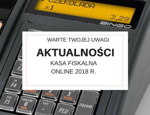 Kasy fiskalne online 2018 r.
