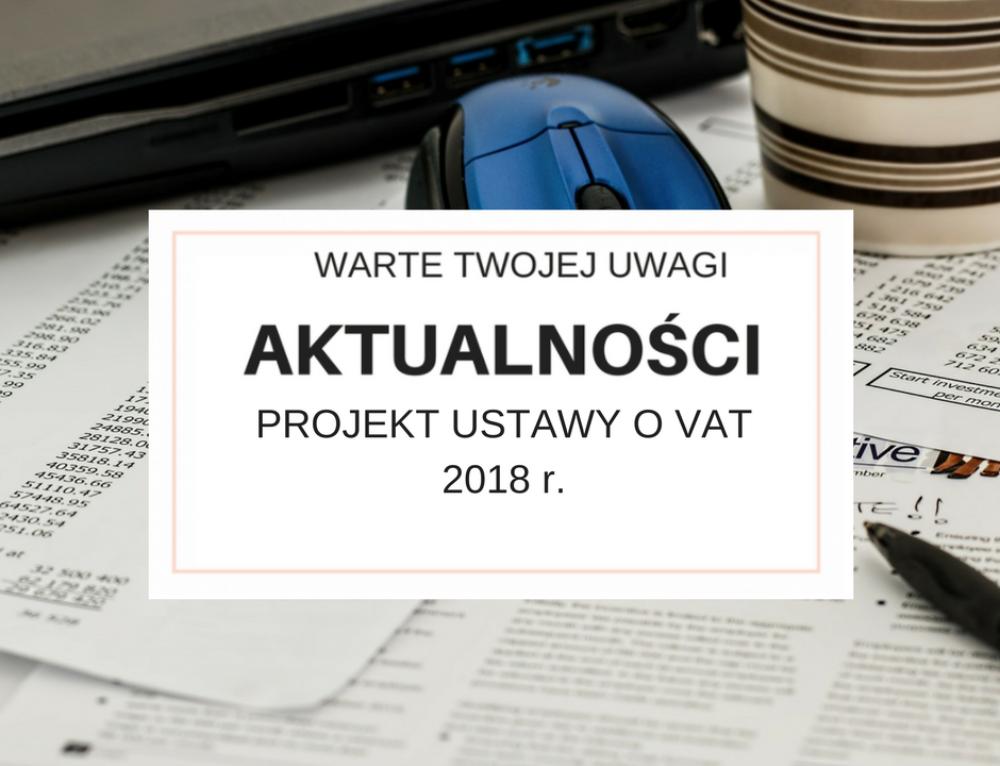 Kasy fiskalne 2018 – zmiany w projekcie ustawy