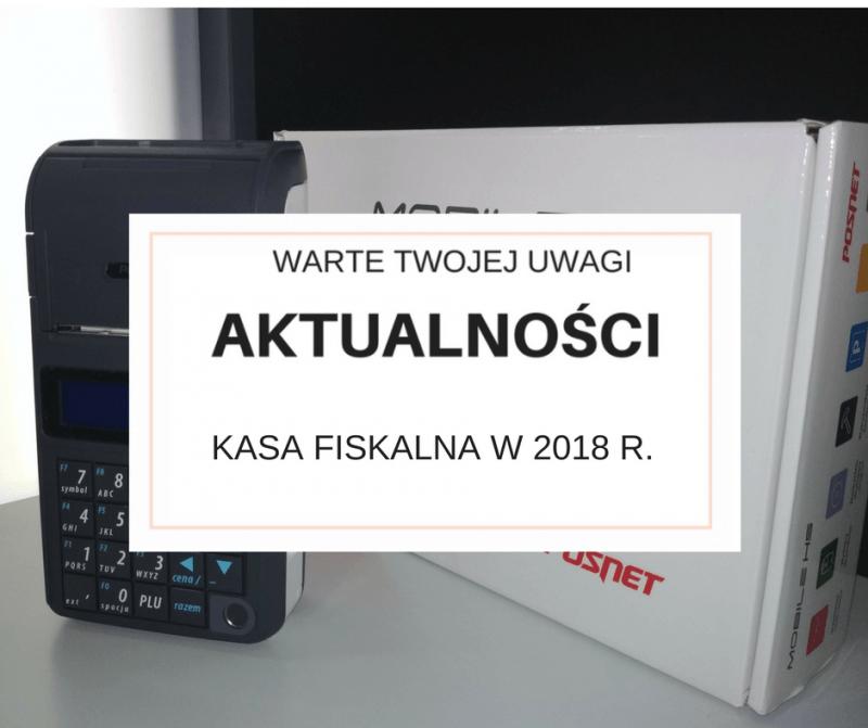 Kasa fiskalna w 2018 roku - w projekcie rozporządzenia zamieszczono katalog zwolnień.