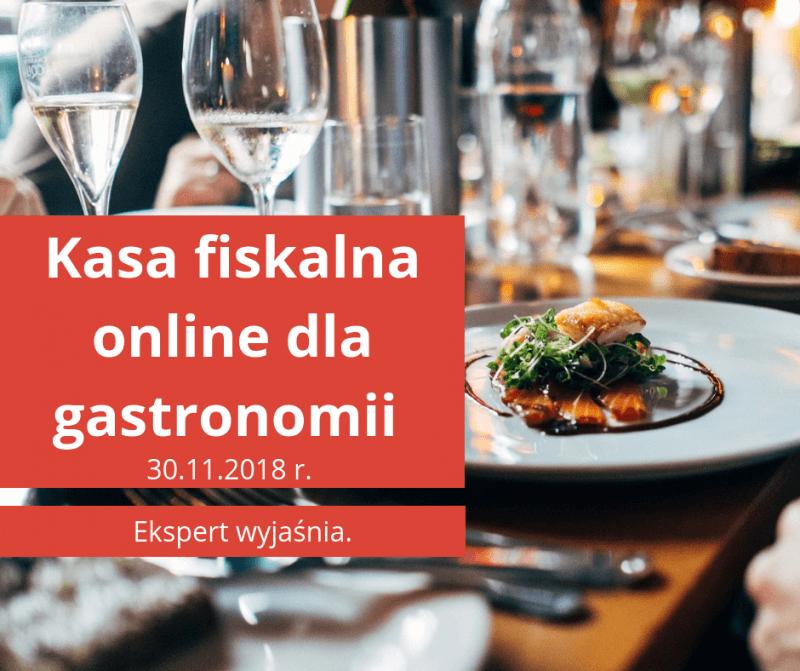 Kasa fiskalna online dla gastronomii