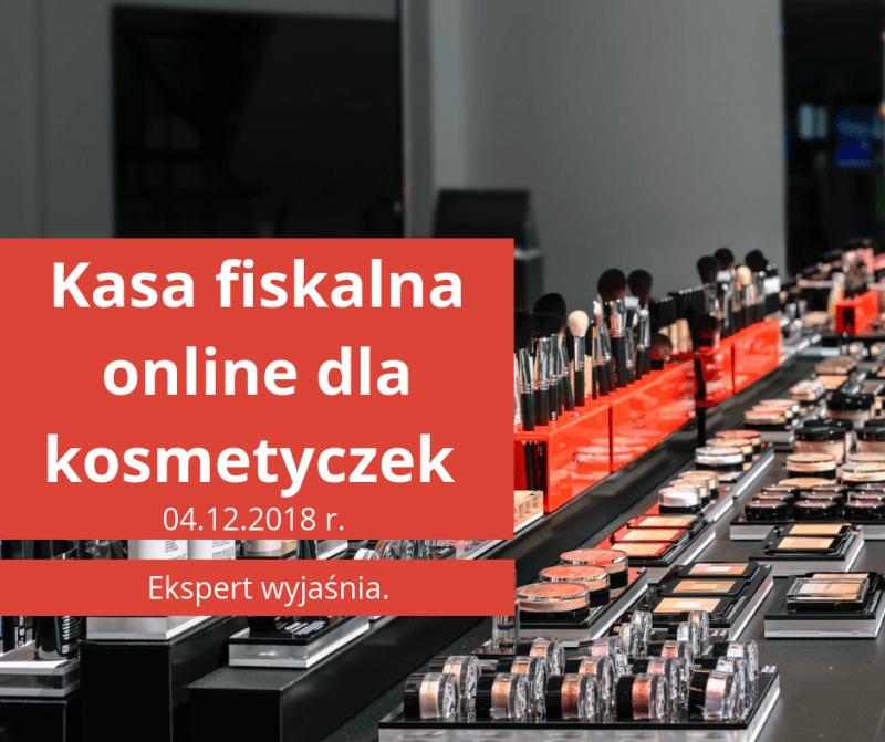 Kasa fiskalna dla kosmetyczek