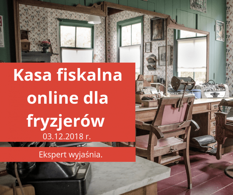 Kasa fiskalna online dla fryzjerów