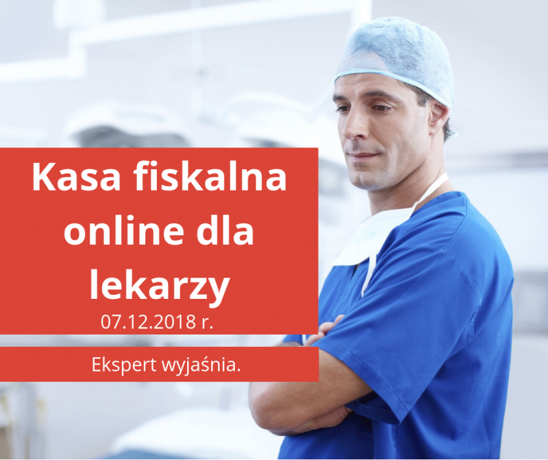 Kasa fiskalna online dla lekarzy
