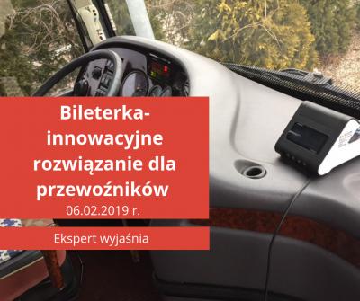 Bileterka-innowacyjne rozwiązanie dla przewoźników