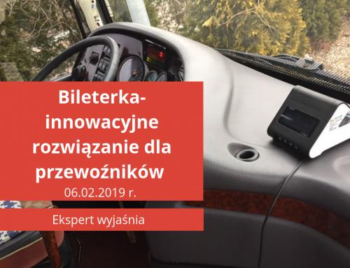 Bileterka- innowacyjne rozwiązanie dla przewoźników