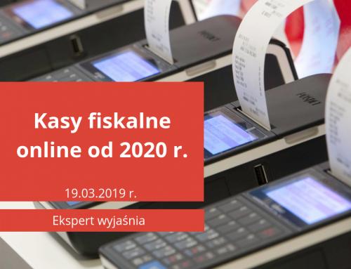Kasy fiskalne online od 2020 roku