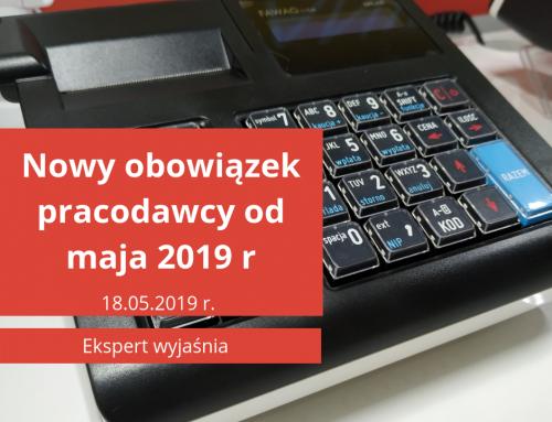 Nowy obowiązek pracodawcy od maja 2019 roku [Wzór Oświadczenia]